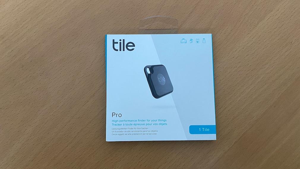 Verpackung des Tile Pro