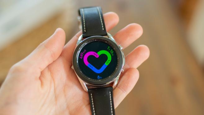 Samsung Galaxy Watch 3 Aktivität©COMPUTER BILD