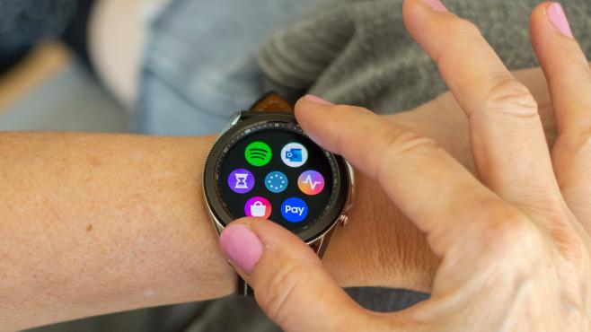 Samsung Galaxy Watch 3 Apps©COMPUTER BILD