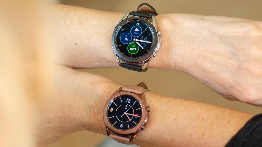 Samsung Galaxy Watch 3 Größen im Vergleich