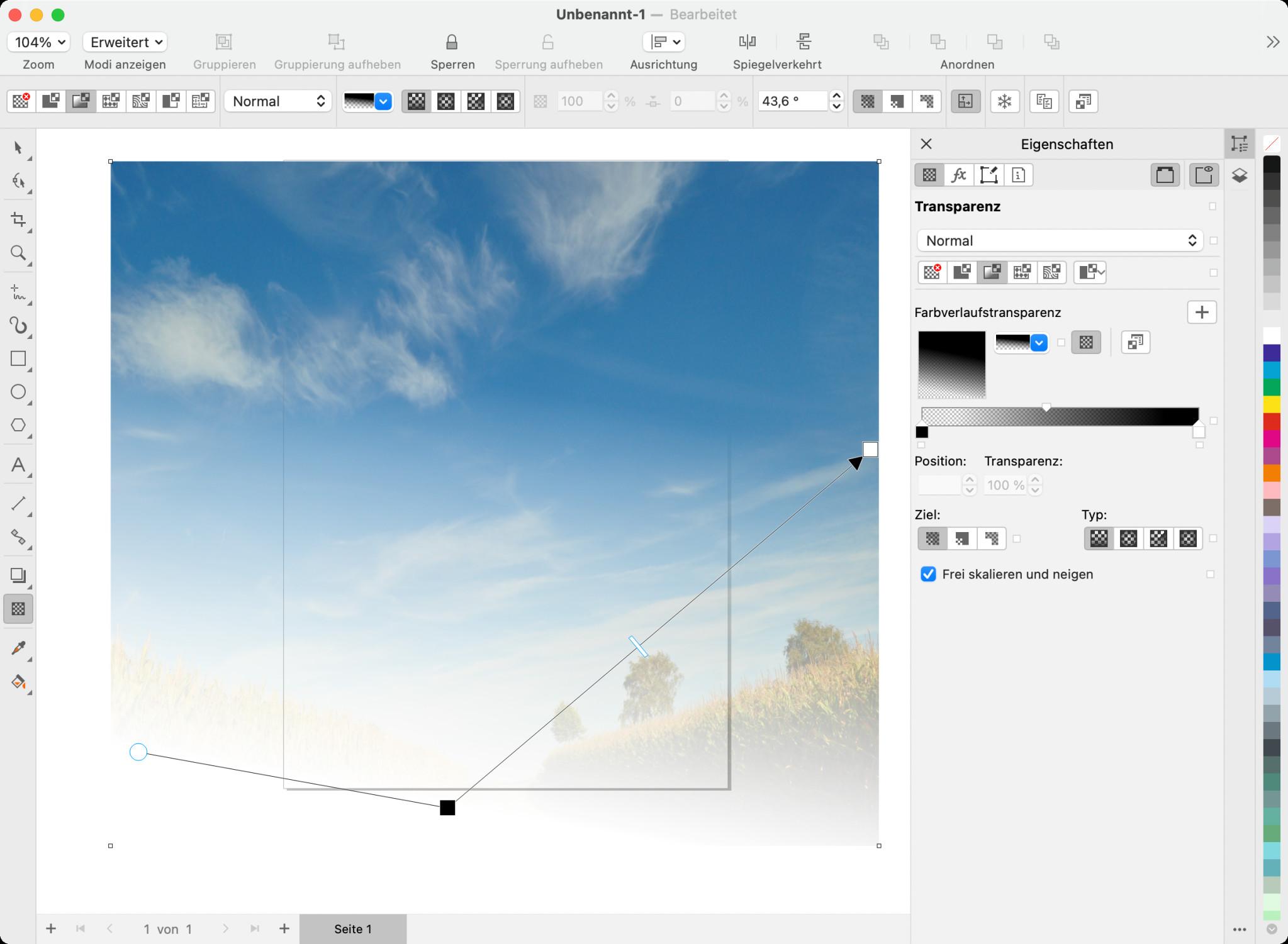Screenshot 1 - CorelDraw Graphics Suite 2021 (Mac)
