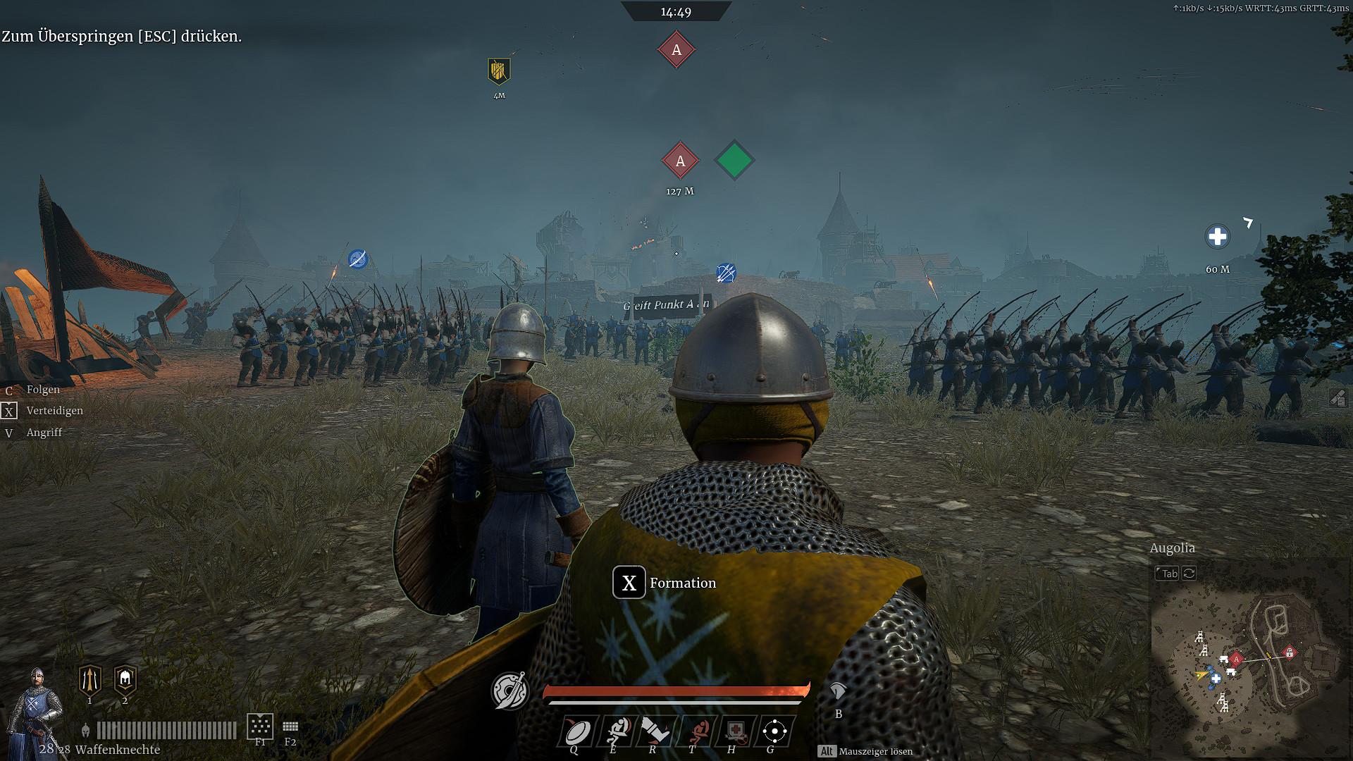 Screenshot 1 - Conqueror's Blade