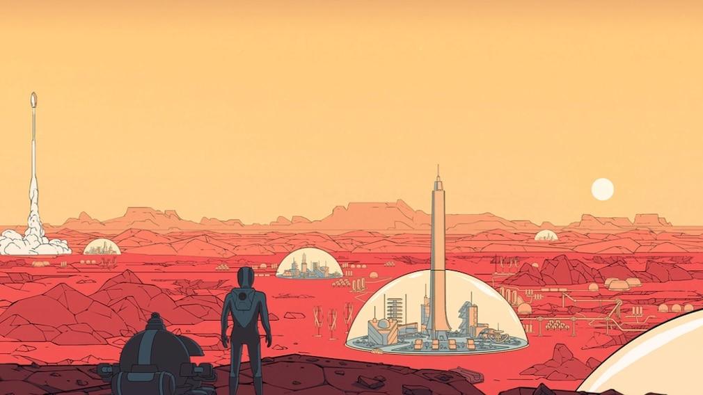 """Surviving Mars""-Artwork©Epic Games Store"