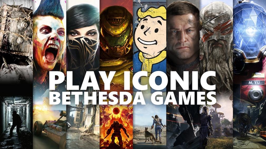 20 Bethesda-Spiele Xbox Games Pass©Microsoft Bethesda