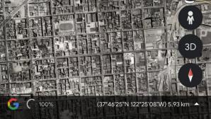 Google Earth©Google / Twitter.com
