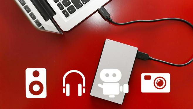 Datensicherung: So kopieren Sie Filme und Fotos auf externe Festplatten©iStock.com/triocean, iStock.com/exdez
