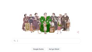 Google Doodle f�r f�r Sidonie Werner©Google