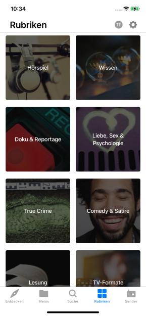 ARD-Audiothek (App für iPhone & iPad)