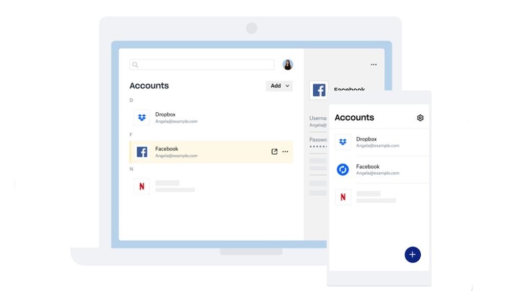 Konzeptzeichnung des Dropox Passwortmanagers