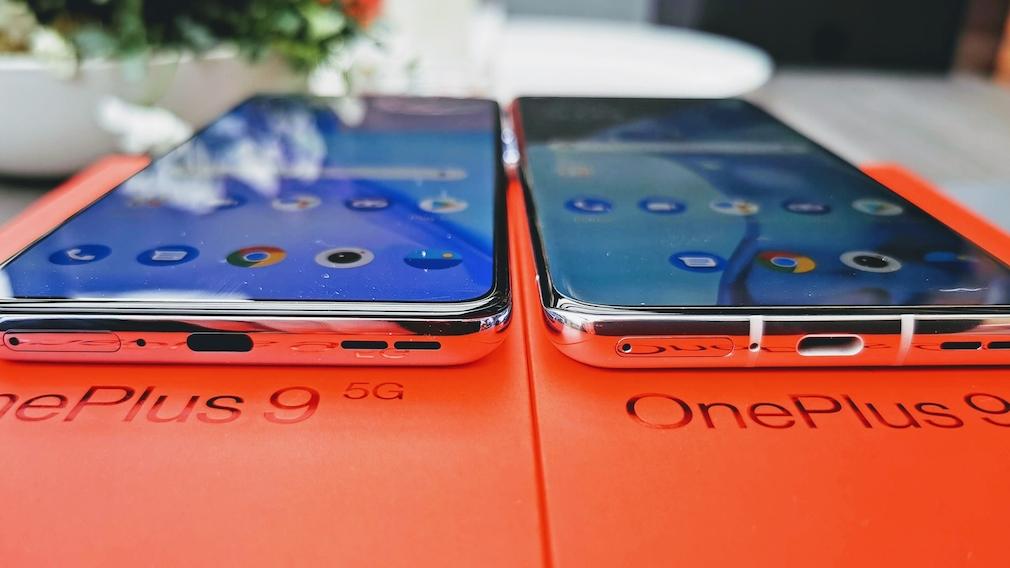 OnePlus 9 Pro und OnePlus 9
