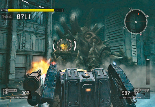 Actionspiel Lost Planet – Extreme Condition: Gruenes Auge © Capcom