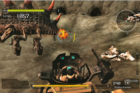 Actionspiel Lost Planet – Extreme Condition: Nest © Capcom