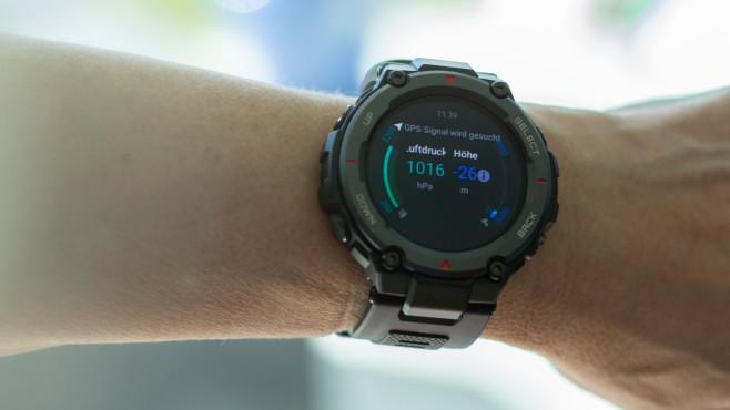 Amazfit T-Rex Pro mit Barometer©COMPUTER BILD