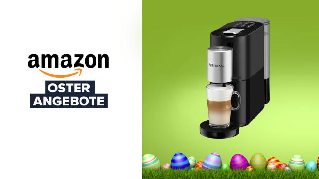 Kapselmaschine Krups XN8908 Nespresso Atelier bei Amazon im Angebot©Amazon, Krups, Coloures-Pic-Fotolia.com