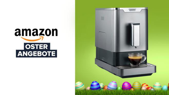Kaffeevollautomat Severin KV 8090 bei Amazon im Angebot©Coloures-Pic-Fotolia.com, Amazon, Severin
