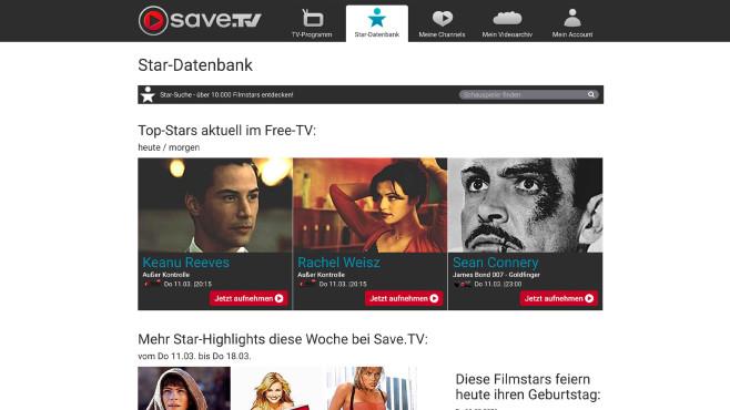 Aktion: Save.TV©Save.TV