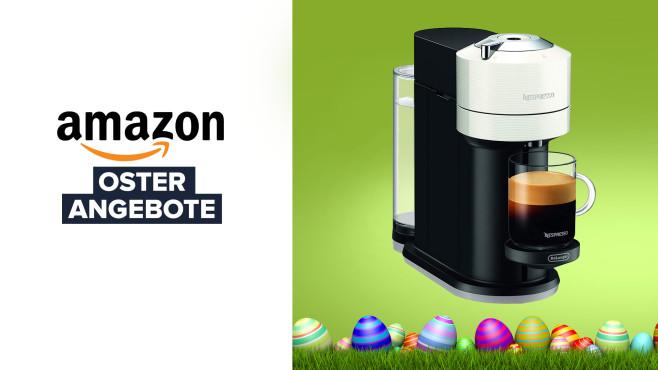 Nespresso-Kapselmaschine De'Longhi ENV120.W bei Amazon©Coloures-Pic-Fotolia.com, Amazon, Nespresso