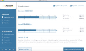 DSL-Breitbandmessung (Speedtest der Bundesnetzagentur) (Mac)
