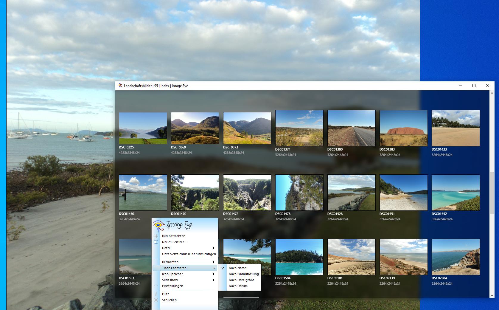 Screenshot 1 - Image Eye