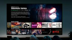 Netflix läuft auf einem Fernseher.©Netflix