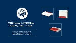 Fritz Labor f�r FritzBox 7580, 7560 und 7530 AX©AVM