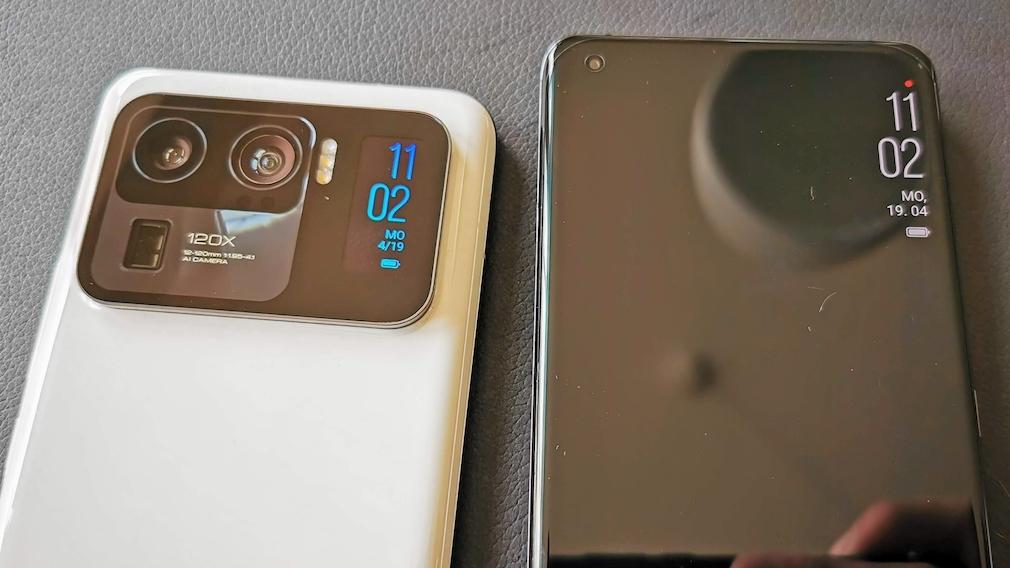 Xiaomi Mi 11 Ultra und Xiaomi Mi 11