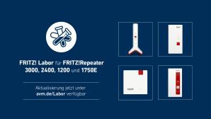 Fritz Labor f�r FritzRepeater 3000, 2400, 1750E und 1200©AVM