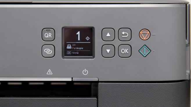 Canon Pixma TS5350 Display für Menü©COMPUTER BILD