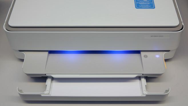 HP Envy 6020 Papierschublade©COMPUTER BILD