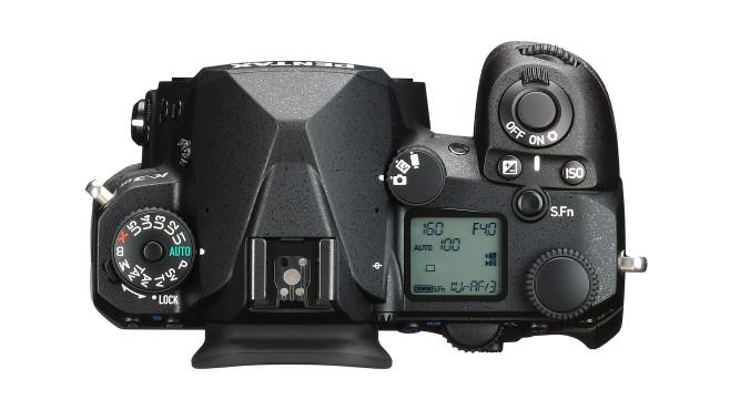 Pentax K-3 III Oberseite©Ricoh Imaging