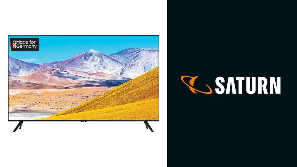 Samsung-TV GU-TU8079 bei Saturn©Saturn, Samsung