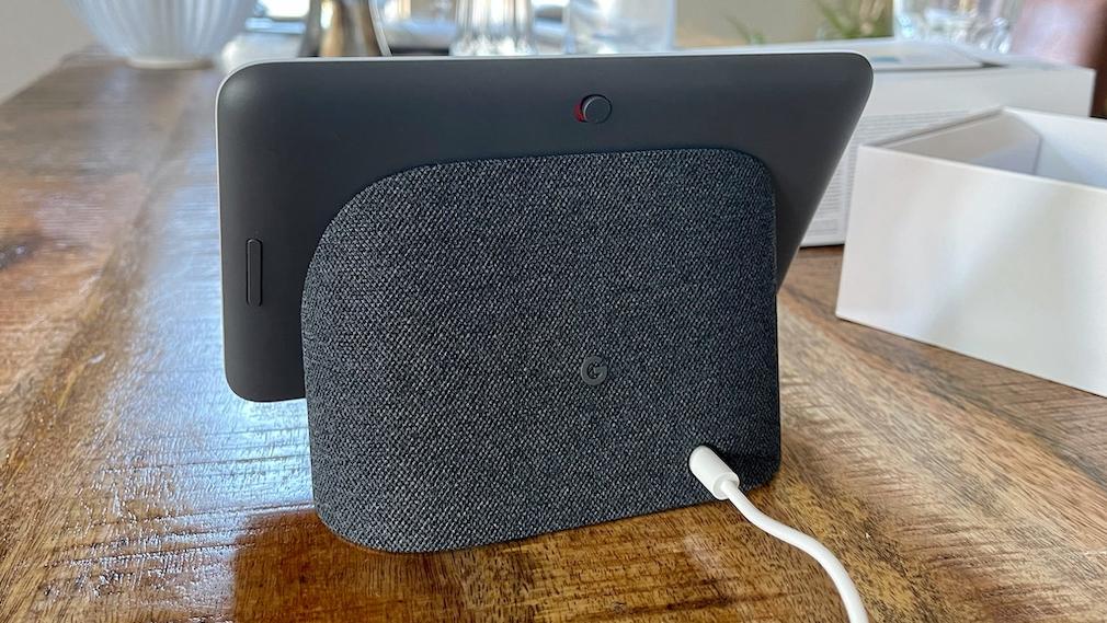 Google Nest Hub 2. Gen, Lautsprecher und Schalter