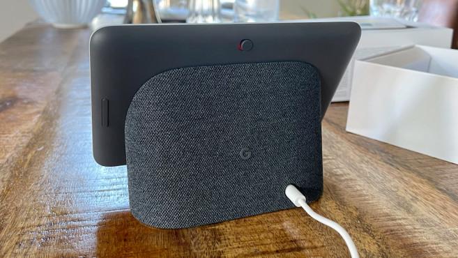 Google Nest Hub 2. Gen, Lautsprecher und Schalter©Google, COMPUTERBILD