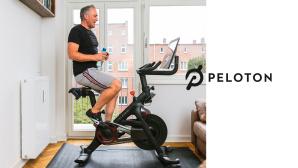 Peloton: Dirk General-Kuchel auf dem Bike©COMPUTER BILD