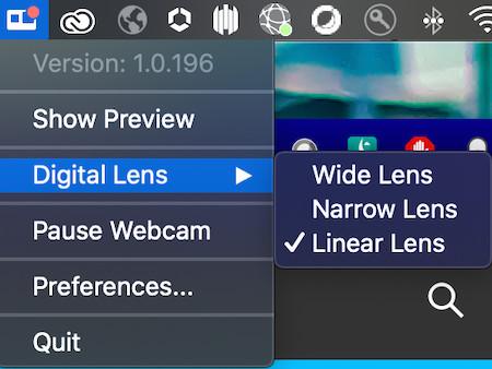 Screenshot 1 - GoPro Webcam (Mac)