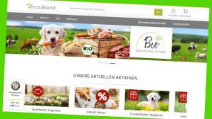 Neuer Spar Deal bei Hundeland: 12 Prozent Erm��igung auf alles©Screenshot Hersteller
