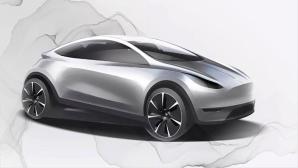 Konzeptzeichnung Tesla Hatchback©Tesla