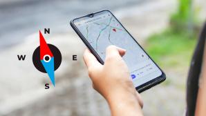 Google Maps und ein Kompass©iStock.com/Anatolii Kovalov , iStock.com/Kanawa_Studio