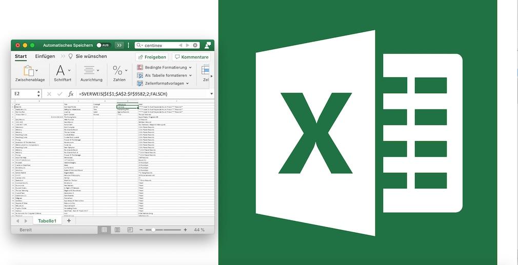 Excel SVERWEIS Microsoft Office