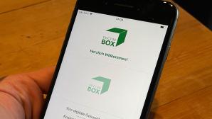 DoctorBox auf einem iPhone 8 Plus©COMPUTER BILD