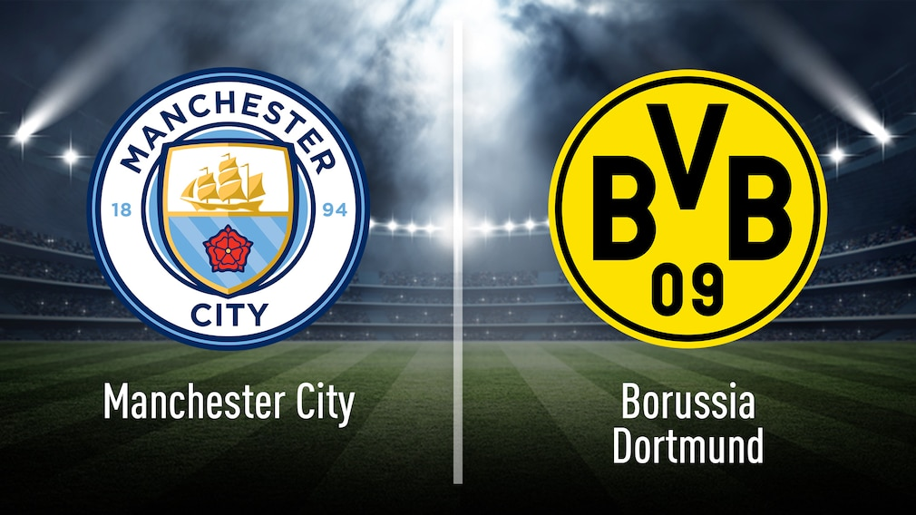 Manchester City gegen Borussia Dortmund