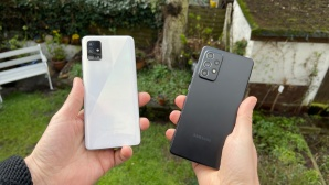 Galaxy A51 vs. A52 © COMPUTER BILD