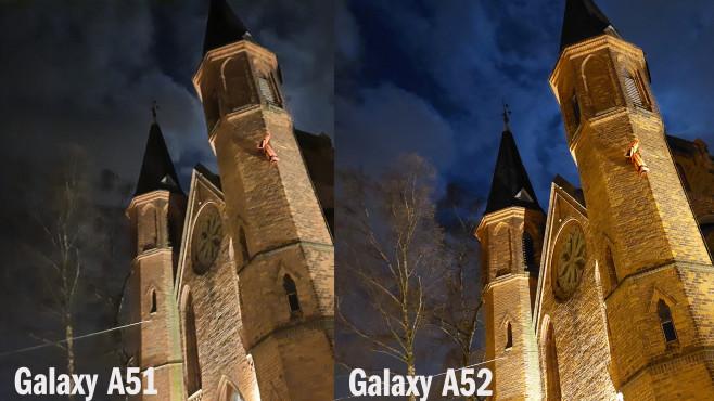 Galaxy A51 vs. A52©COMPUTER BILD