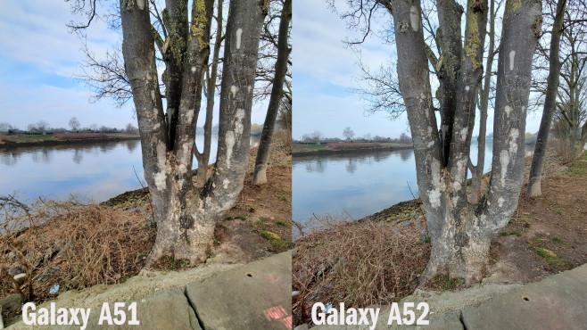 Galaxy A51 vs. A52: Kamera©COMPUTER BILD