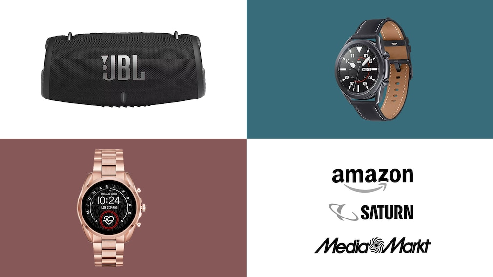 Amazon, Media Markt, Saturn: Top-Deals des Tages! © Saturn, Amazon, Media Markt, Samsung, JBL, Michael Kors
