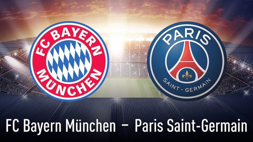 Bayern München gegen Paris Saint-Germain