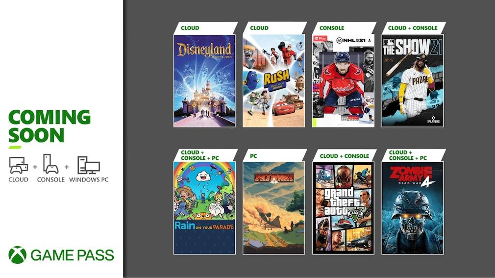 Xbox Game Pass: Neuheiten im April 2021
