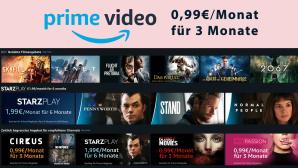 Amazon Prime Video Channels: Drei Monate für je 99 Cent Streaming-Freunde, aufgepasst: Amazon haut mehrere über Prime Video verfügbare Channels aktuell zum Spitzenpreis raus.©Amazon Prime Video