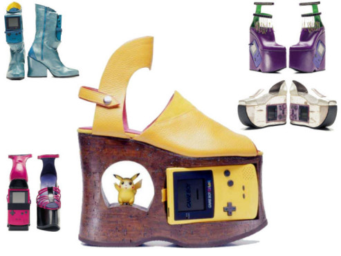 Gameboy-Boots