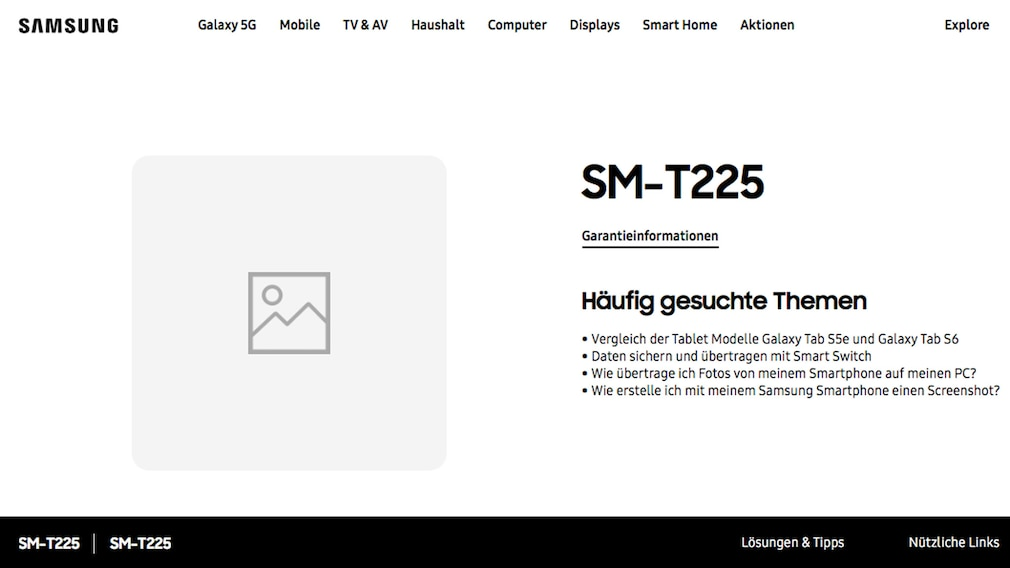 Samsung Screenshot